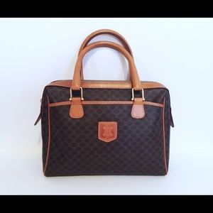 Vintage 1980's Celine handbag purse bag